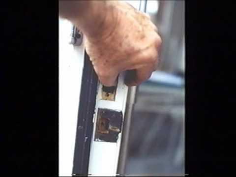 The World's Best Door Lock - The Linebacker Articulating Door Bar