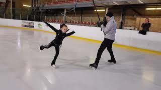 Фигурное катание, ускоренное обучение прыжкам с помощью удочки, лонжа на сборах по фигурному катанию