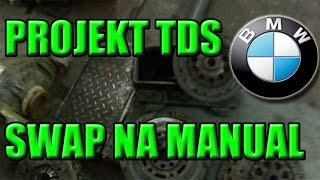 PROJEKT TDS BMW E39 SWAP Z AUTOMATU NA MANUAL