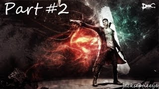 DMC: Devil May Cry PC - Hunter Demon Boss Fight- Gameplay Walkthrough - Part 2