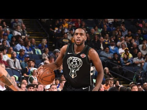 Khris Middleton Adds 23 Points vs Warriors | 3.29.18