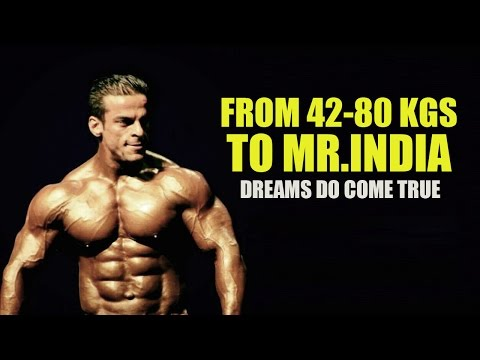 From 40 kgs to Mr India