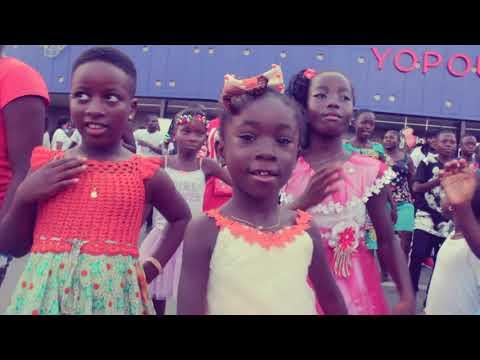 Flash mob Jerusalema Yopougon (Abidjan) - Music by Nomcebo Zikode