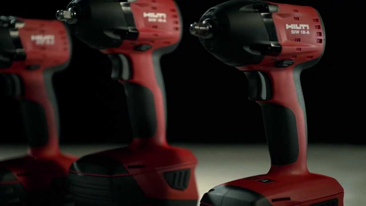 introducing hilti 18v cordless impact drivers and impact. Black Bedroom Furniture Sets. Home Design Ideas