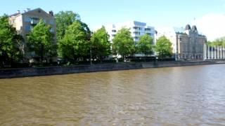 アキーラさん散策!親日国フィンランド・トゥルク・アウラ川2,Turk,Finland