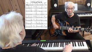 If It's The Last Thing I Do - Jazz guitar & piano cover ( Sammy Cahn )