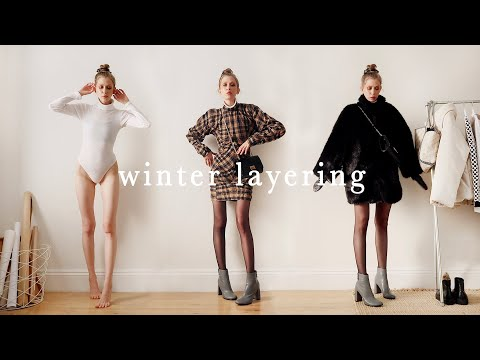 LAYERING WINTER OUTFITS // Cold Weather –(using Farfetch, Stella Mccartney, Basics, Vegan Outerwear)
