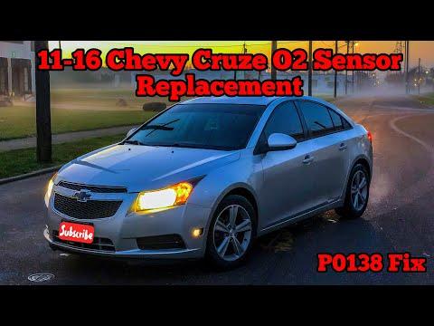 2013 Chevy Cruze 1.4T Oxygen Sensor Replacement (P0138 Fix)