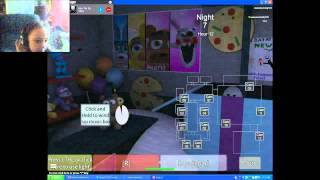 Roblox: Let's play Fnaf 2 on night 7!