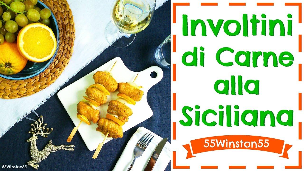Involtini di carne alla siciliana secondo di natale for Secondo di natale