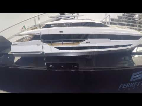 Boot 2018, Düsseldorf  Messe, Luxusyachten, Majestät 100, Sunseeker, Ferretti Group
