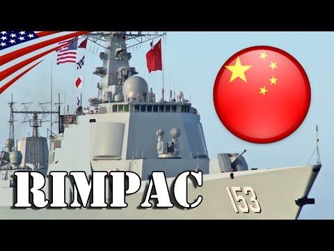 Chinese Navy Ships Arrivals at Pearl Harbor : RIMPAC 2016 - 中国海軍の「リムパック2016」演習参加艦がハワイ・真珠湾に到着