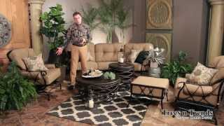 Woodard Derby Patio Furniture Overview