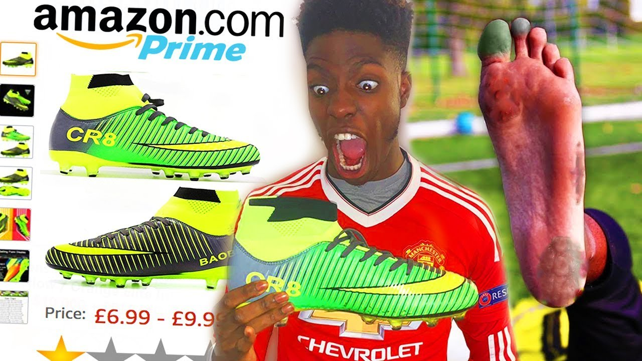 f61be490187 These FAKE Cristiano Ronaldo Football Boots Ruined My Professional Career!!  (DONT BUY THESE)