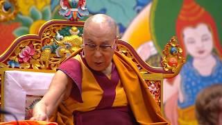 Далай-лама. Учения в Риге 2018. День 1. Сессия 1