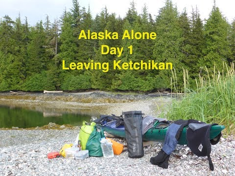 Alaska Alone Leaving Ketchikan (part 1)