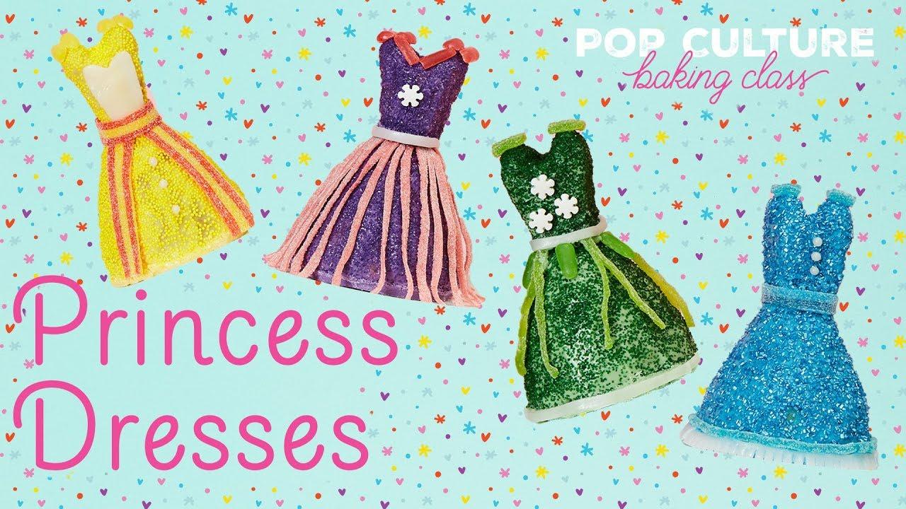 Princess Dresses and Marshmallow Castles | Genius Kitchen - YouTube
