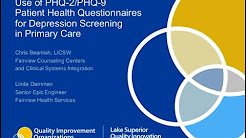 Use of PHQ-2/PHQ-9 Patient Health Questionnaires for Depression Screening in Primary Care