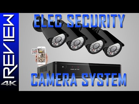 ELEC HD Security Camera System Review