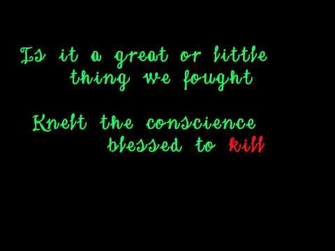 """Drunken Lullabies"" lyrics video"