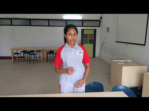 IWS Aurangabad - Science experiment - Magnesium reaction with Oxygen and water