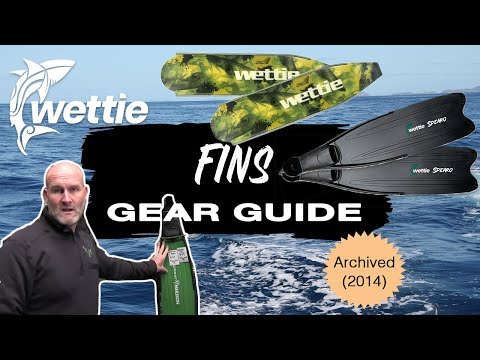 WettieTV - 'GEAR GUIDE' What Fins Do I Need For Spearfishing? (2014 Edition)