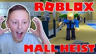Roblox Adventures / Bekanntheit! / MALL HEIST IN ROBLOX!
