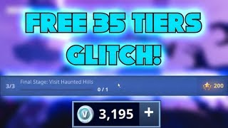 FREE 35 TIERS GLITCH IN FORTNITE | [SEASON 7] [WORKING]