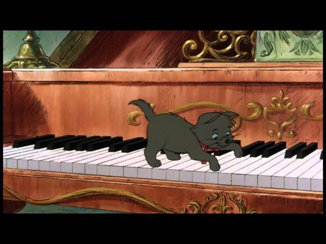 De Aristokatten | Liedje: Poot Voor Poot Voor Kattenpoot | Disney BE