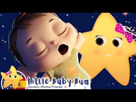 Canciones Infantiles | Estrellita, 驴D贸nde Est谩s? | Dibujos Animados | Little Baby Bum en Espa帽ol