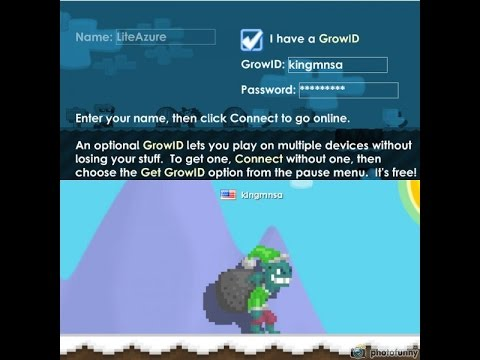 GROWTOPIA FREE PRO ACCOUNT (LEVEL 40) (WITH GOBLIN)