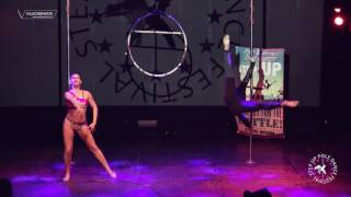 POLE DANCE PIROUETTE PRIVE TEAM/STEP UP-2017 AERIAL DANCE CONTEST