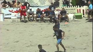 ‪shoreline Beach Sc Vs Team 99 Pugg Updated - 2012 Beach Soccer Festival‬