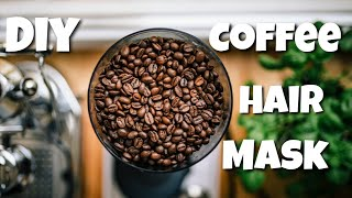 DIY coffee hair mask for hair growth coffee deep conditioner