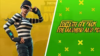 Fortnite new gfx pack for (android/pc) by sa editz