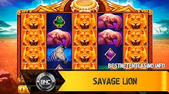 Savage Lion slot by Ruby Play