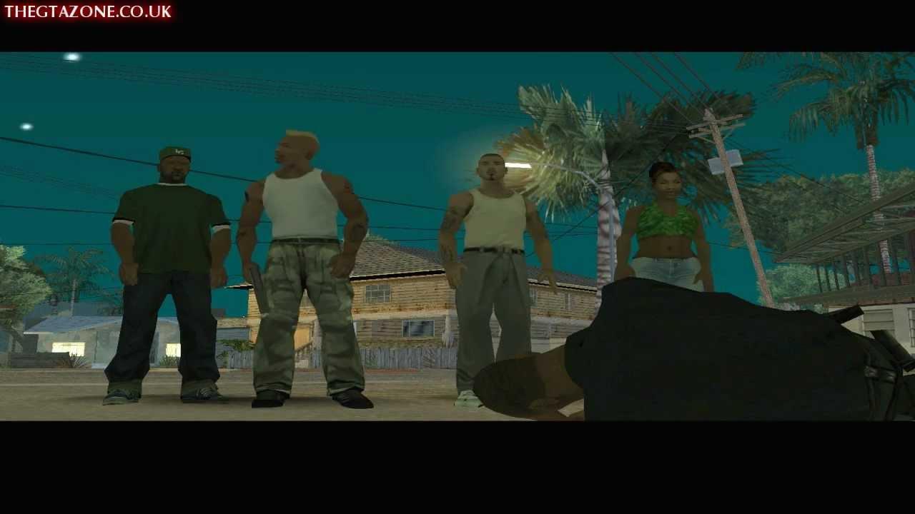 gta san andreas - final mission - end of the line  hd