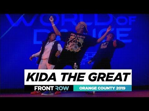 Kida the Great  FRONTROW  World of Dance Orange County 2019  WODOC19