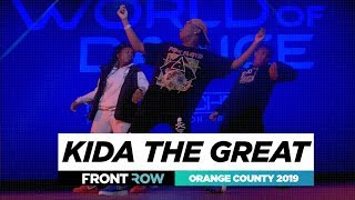 Kida the Great | FRONTROW | World of Dance Orange County 2019 | #WODOC19