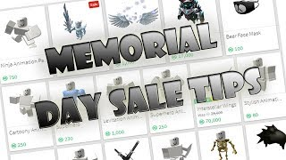 Roblox What to do during the Memorial day sale 2018