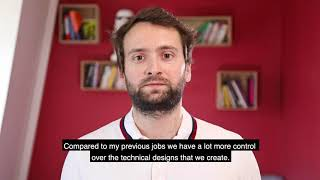 Martin, Software Engineer at Contentsquare