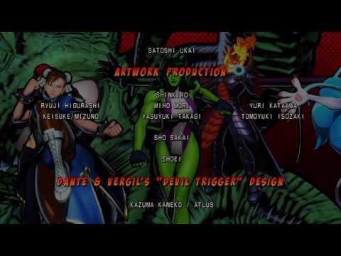 ULTIMATE MARVEL VS. CAPCOM 3 Credits |