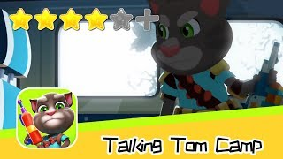 Talking Tom Camp PVP Day 16 Walkthrough Fight Back Now! Recommend index four stars
