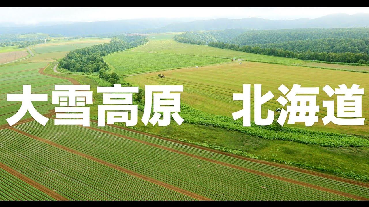 【空の旅#59】「大地が広いのか? トラックが小さいのか?」空撮・多胡光純 北海道_Hokkaido aerial