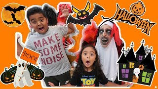 Skye's Costume HUNT at Halloween City