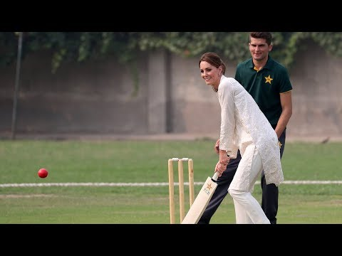 video: Duchess of Cambridge speaks of 'vital role of mothers' as she tells Pakistan: 'You have reminded us exactly what family means'