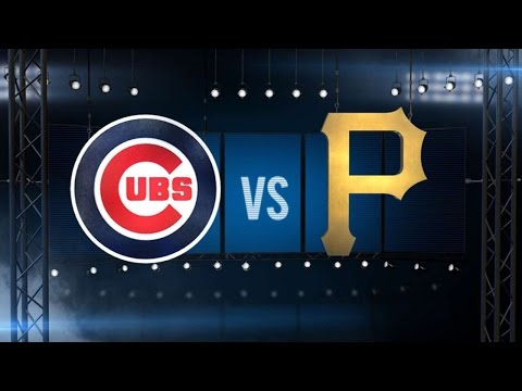9/27/16: Lackey and Coghlan lead Cubs past Pirates