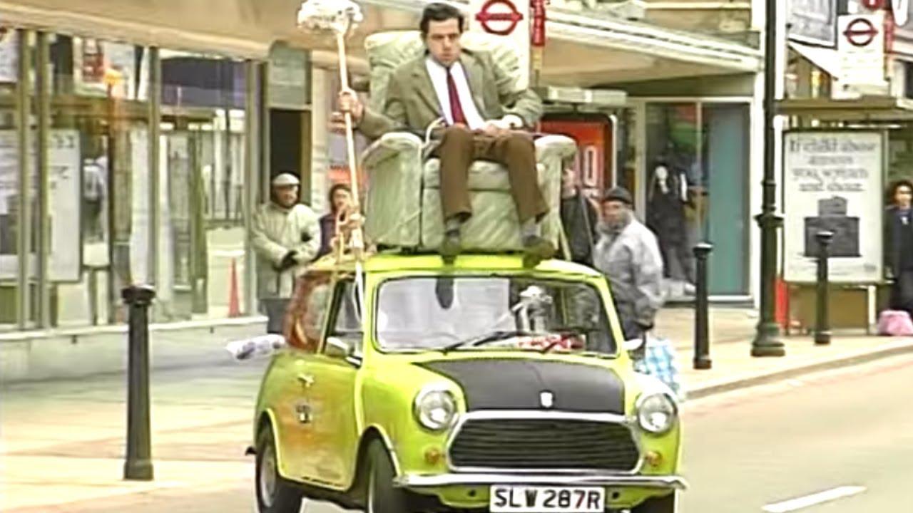 Famous Car Scene   Funny Clip   Classic Mr. Bean