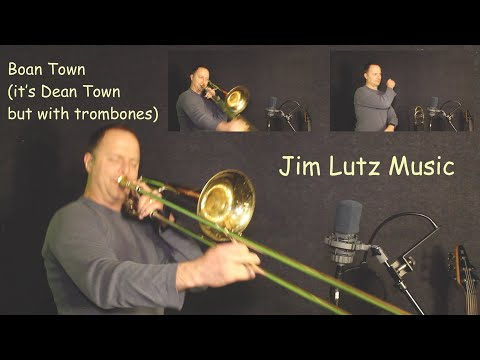 Boan Town - Trombone cover version of Dean Town by Vulfpeck - Jim Lutz