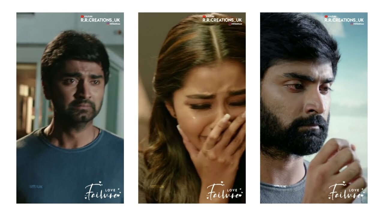 Love Feelings Tamil Love Failure Status Full Screen Whatsapp Status R R Creations Uk Youtube